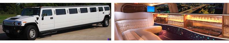 White H2 Hummer Limousine